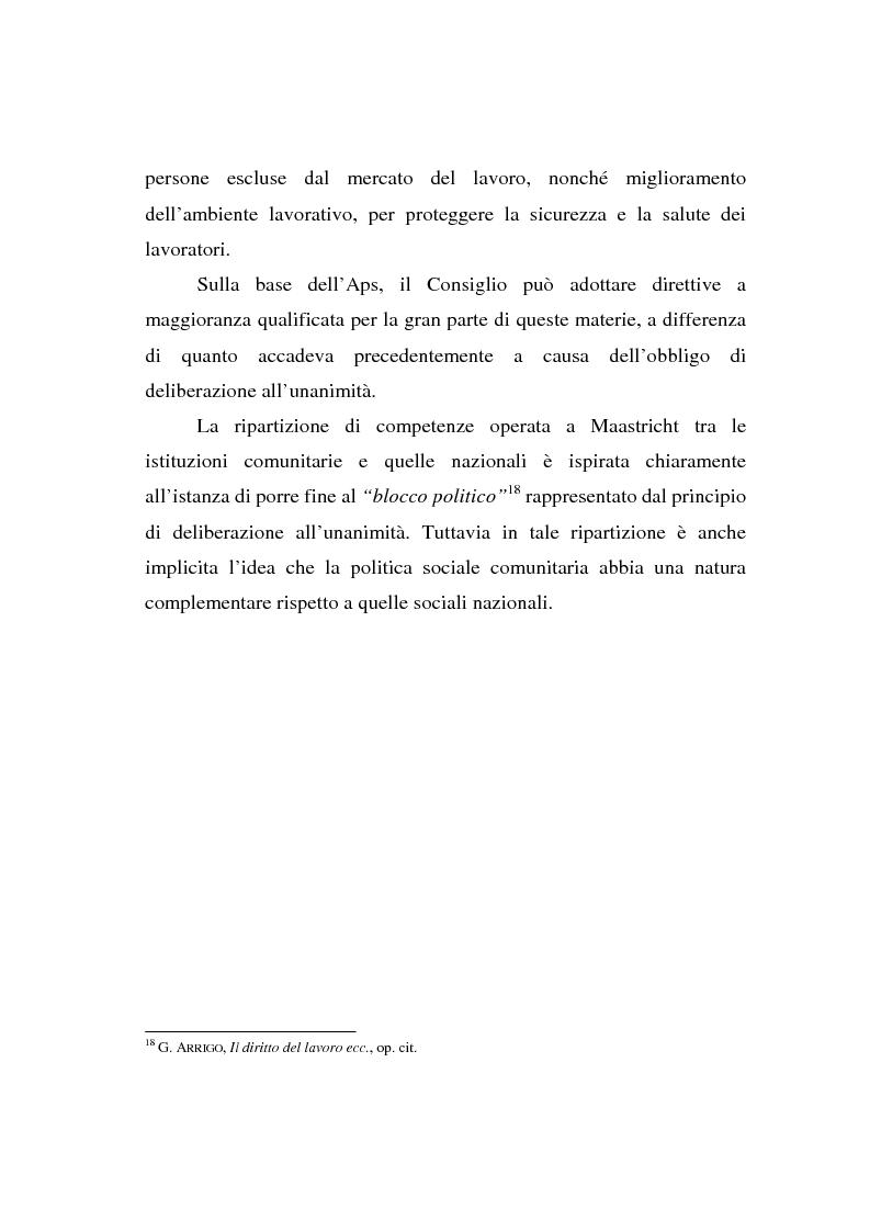 Anteprima della tesi: La Carta di Nizza e i rapporti di lavoro, Pagina 10