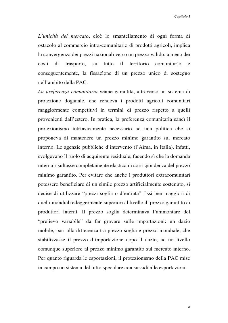 Anteprima della tesi: Profili di gestione finanziaria delle imprese agricole, Pagina 8
