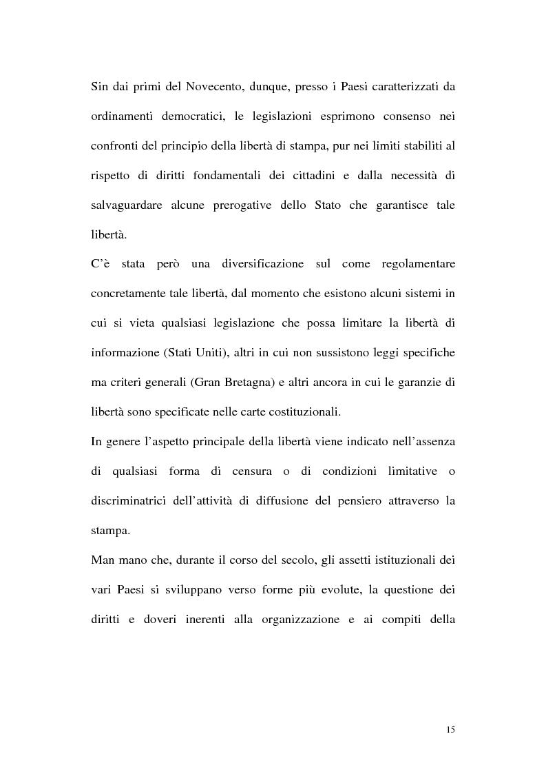 Anteprima della tesi: Il diritto alla comunicazione nel nuovo panorama tecnologico della convergenza multimediale, Pagina 14