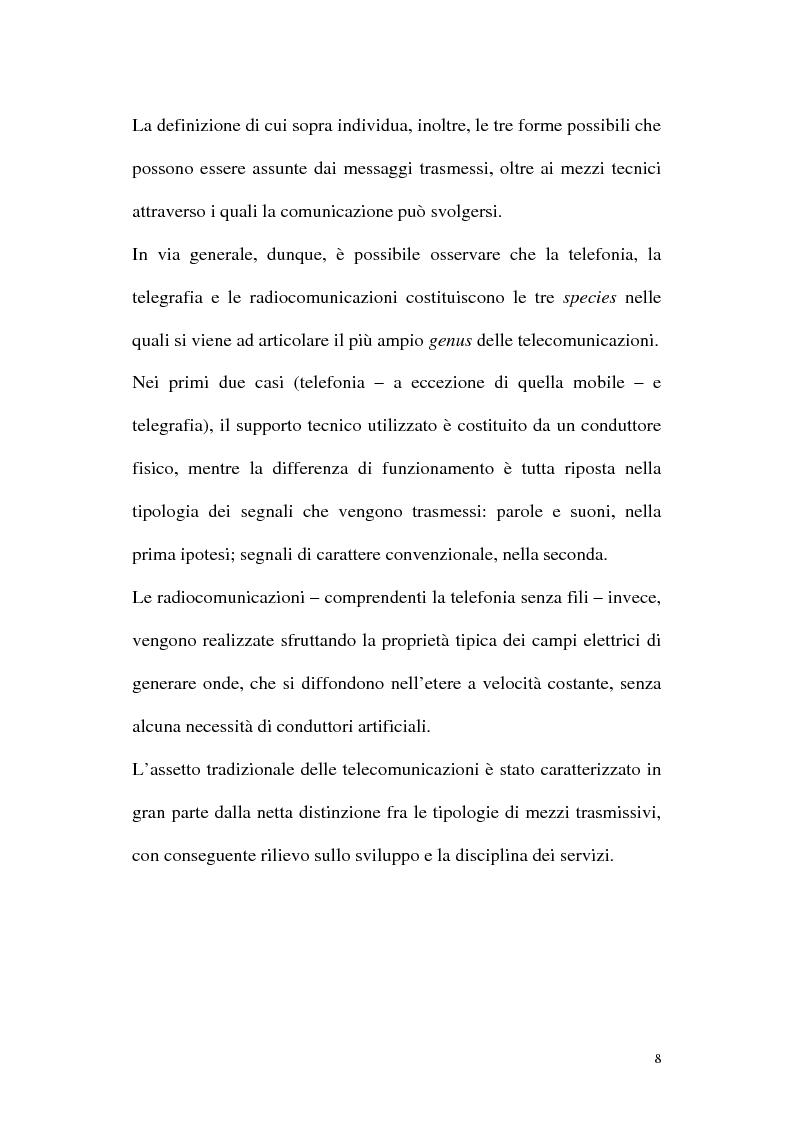 Anteprima della tesi: Il diritto alla comunicazione nel nuovo panorama tecnologico della convergenza multimediale, Pagina 7