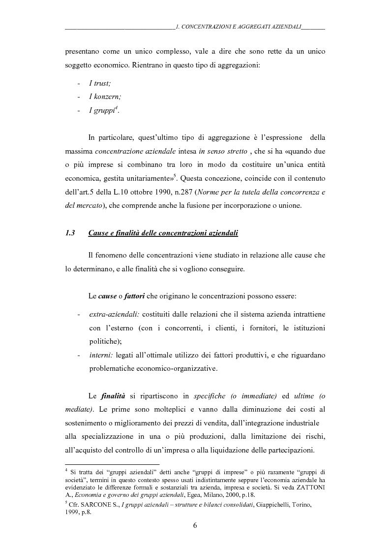 Anteprima della tesi: I gruppi: una realtà emergente ed il bilancio consolidato come sistema informativo. Il caso Hotel Together, Pagina 10