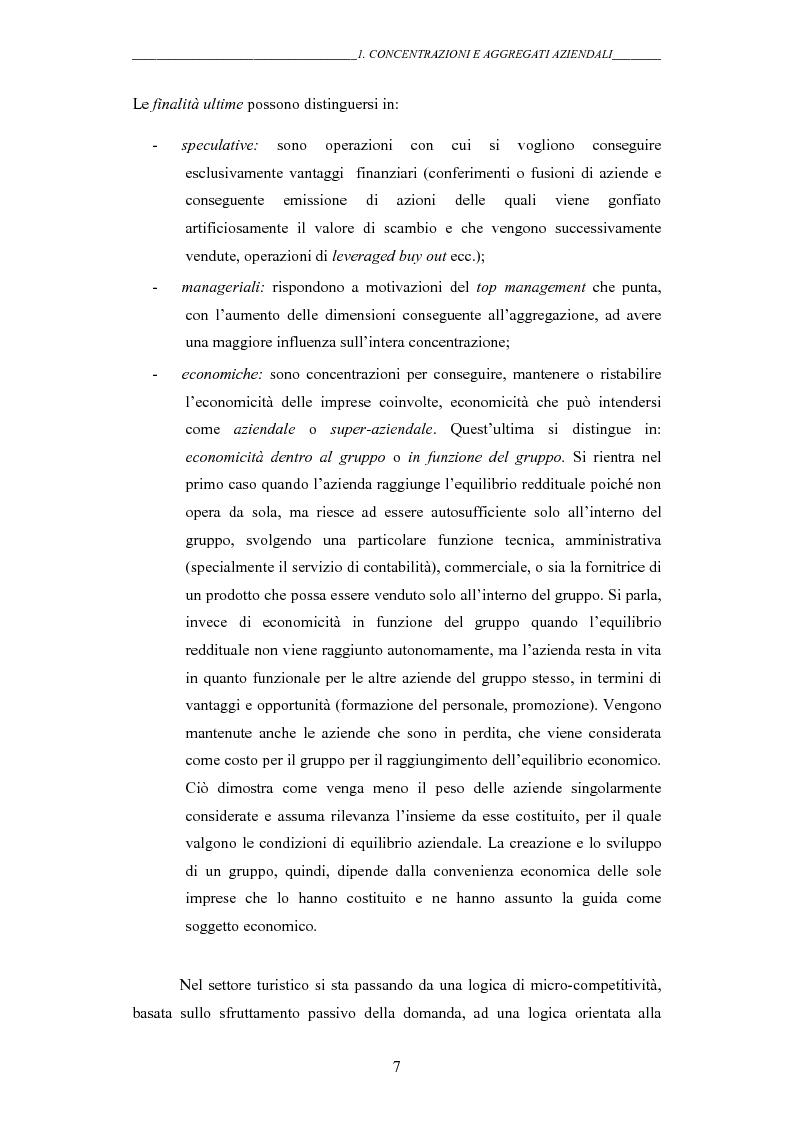 Anteprima della tesi: I gruppi: una realtà emergente ed il bilancio consolidato come sistema informativo. Il caso Hotel Together, Pagina 11