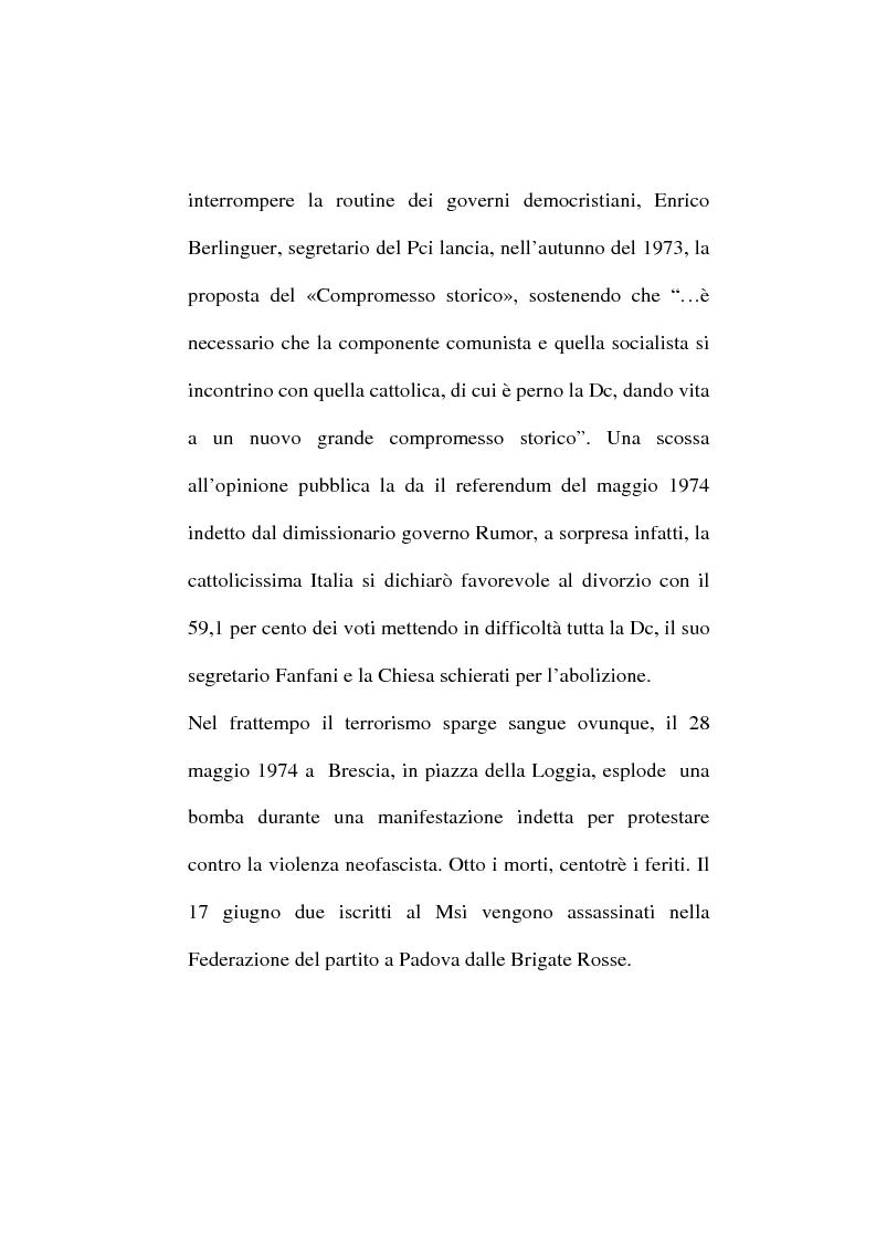Anteprima della tesi: ''Il Giornale'' e il problema sindacale, Pagina 5