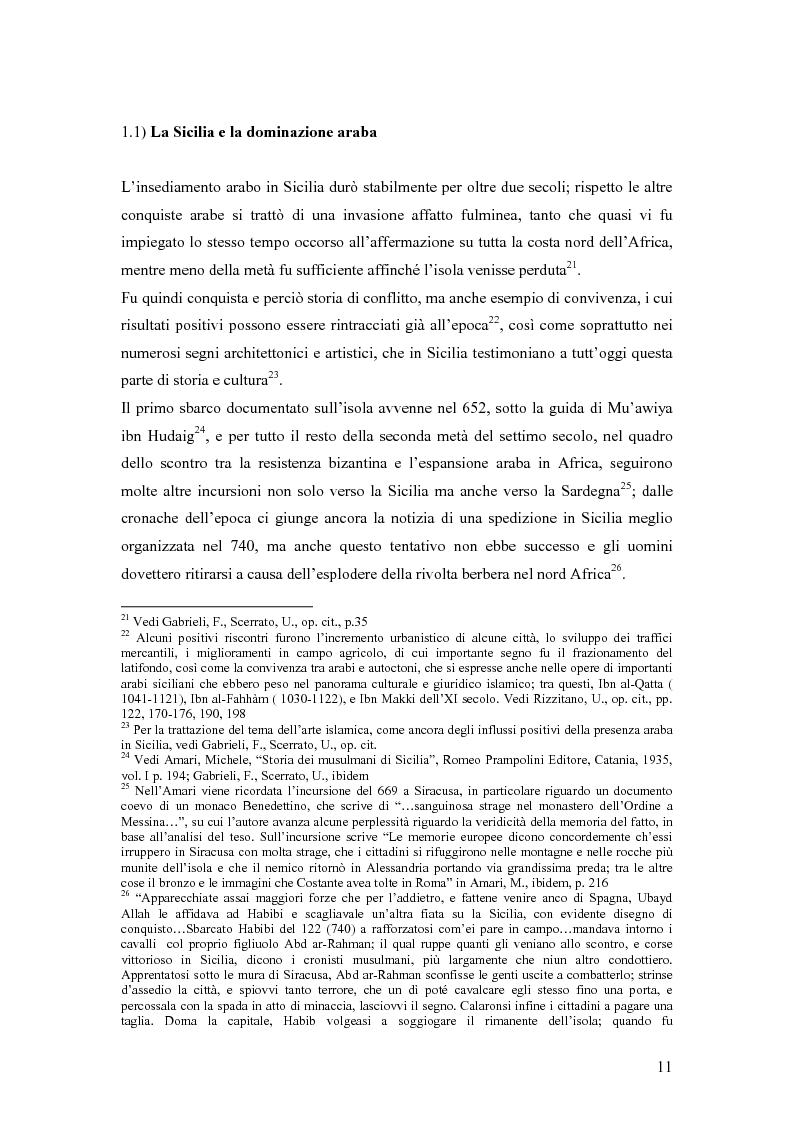 Anteprima della tesi: La presenza musulmana nel Friuli-Venezia Giulia: tra reminiscenza storica e nuova immigrazione, Pagina 11