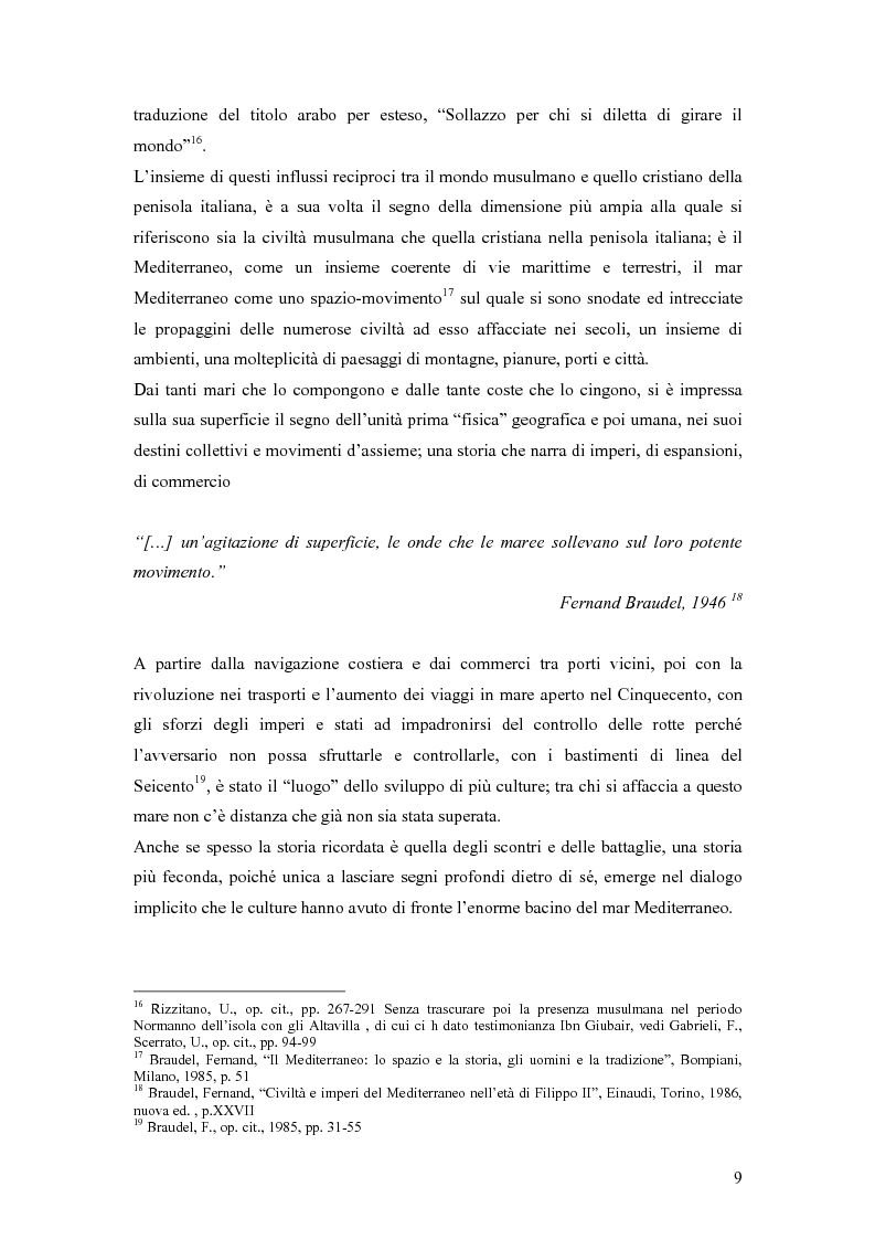 Anteprima della tesi: La presenza musulmana nel Friuli-Venezia Giulia: tra reminiscenza storica e nuova immigrazione, Pagina 9