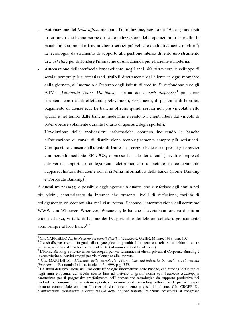 Anteprima della tesi: Segmenti di mercato e fidelizzazione della clientela bancaria. Il caso Gruppo Monte dei Paschi di Siena, Pagina 7