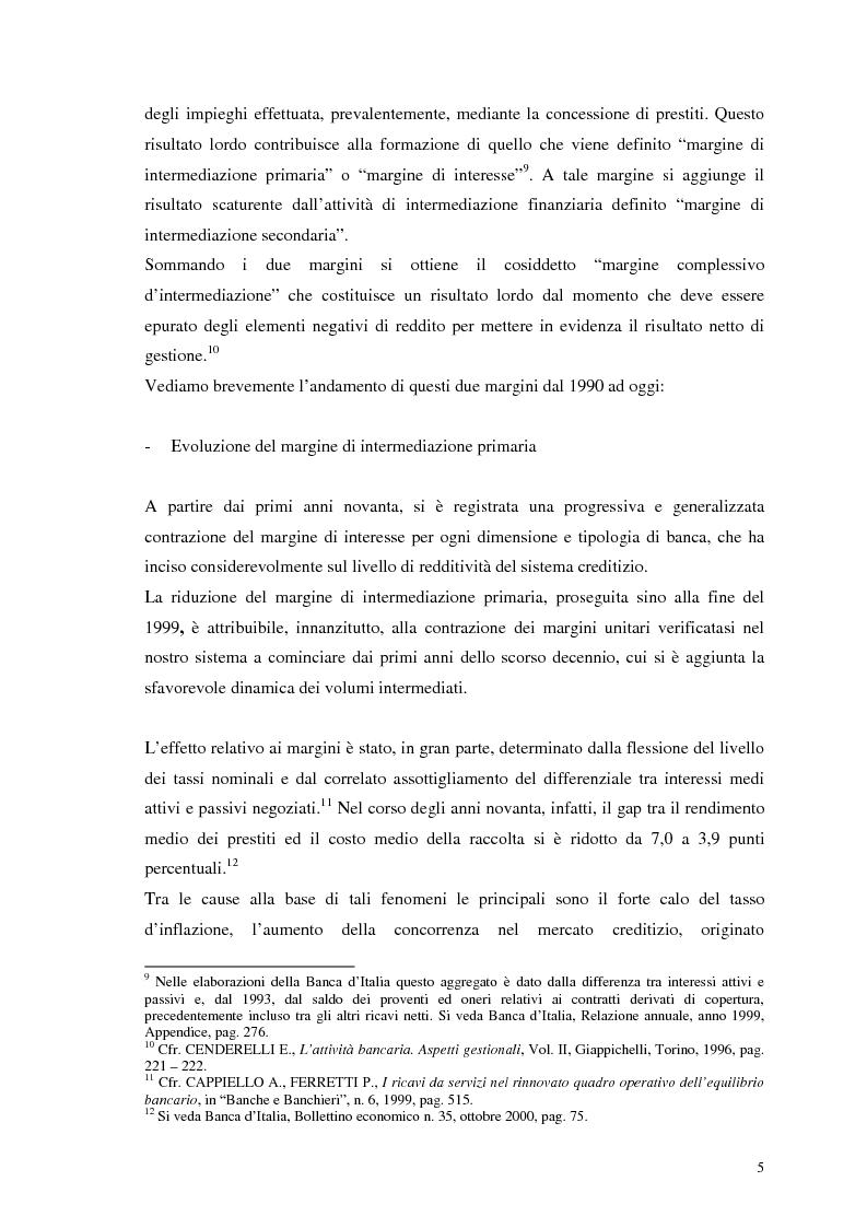 Anteprima della tesi: Segmenti di mercato e fidelizzazione della clientela bancaria. Il caso Gruppo Monte dei Paschi di Siena, Pagina 9