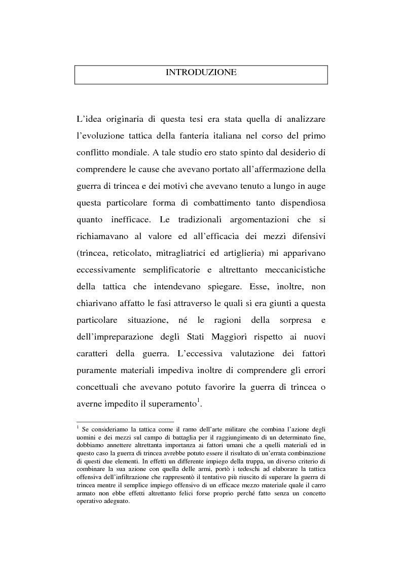 Anteprima della tesi: L'esperienza inutile. L'esempio dei conflitti anglo-boero e russo-giapponese e l'impreparazione italiana alla guerra di trincea (1900-1914), Pagina 1