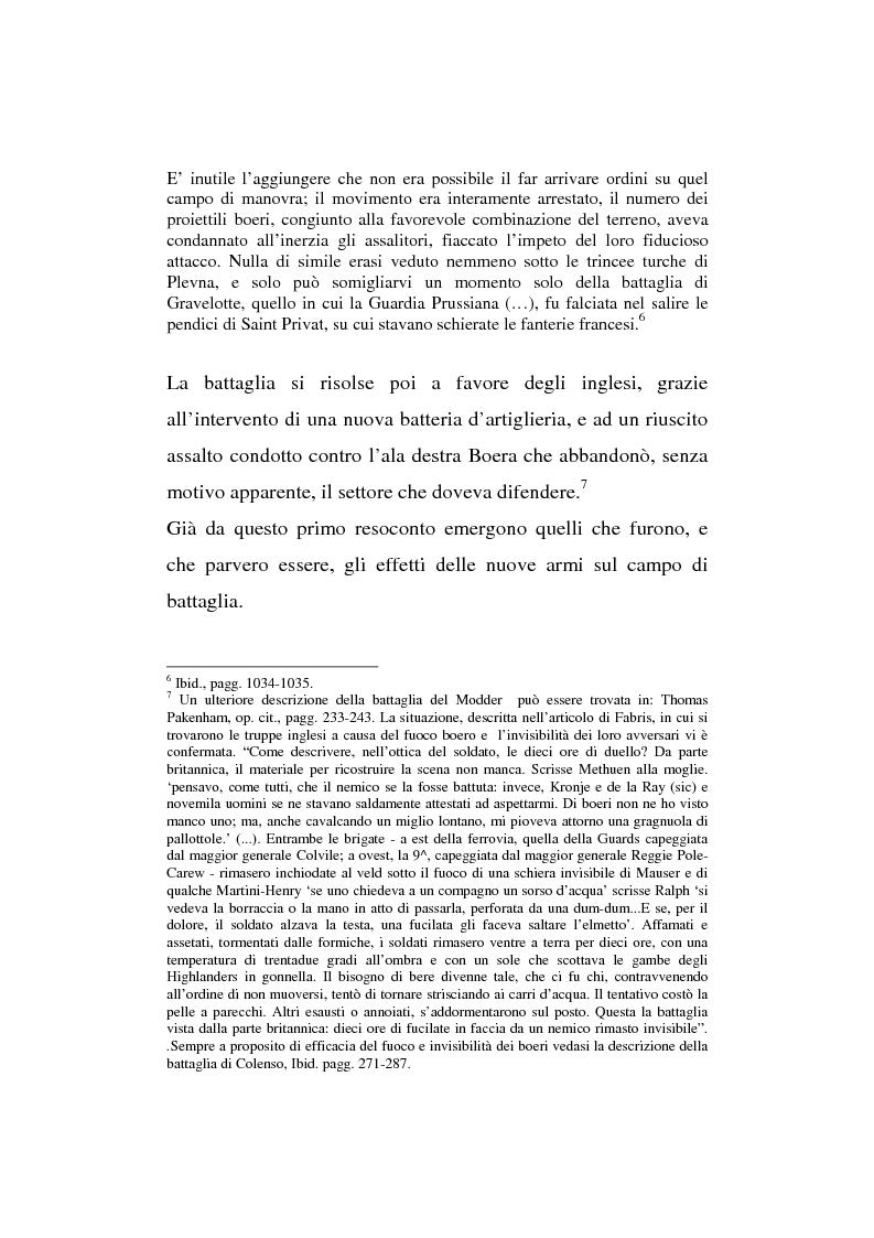Anteprima della tesi: L'esperienza inutile. L'esempio dei conflitti anglo-boero e russo-giapponese e l'impreparazione italiana alla guerra di trincea (1900-1914), Pagina 14