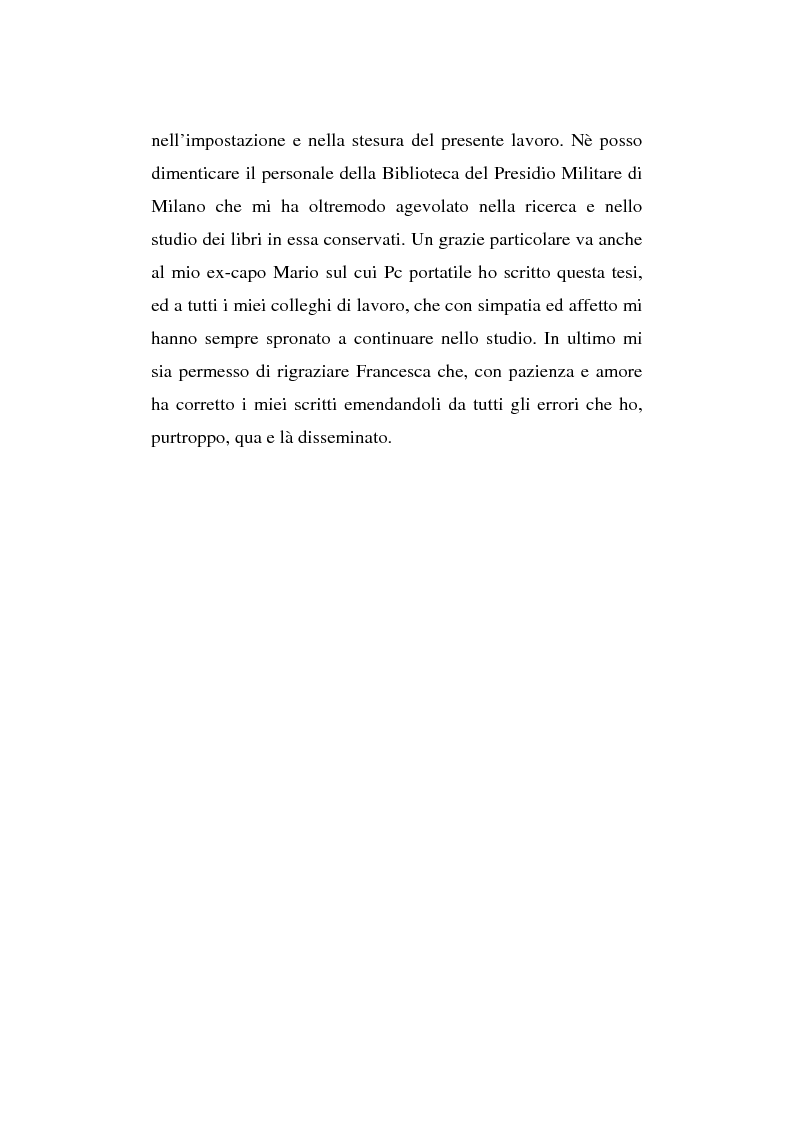 Anteprima della tesi: L'esperienza inutile. L'esempio dei conflitti anglo-boero e russo-giapponese e l'impreparazione italiana alla guerra di trincea (1900-1914), Pagina 7