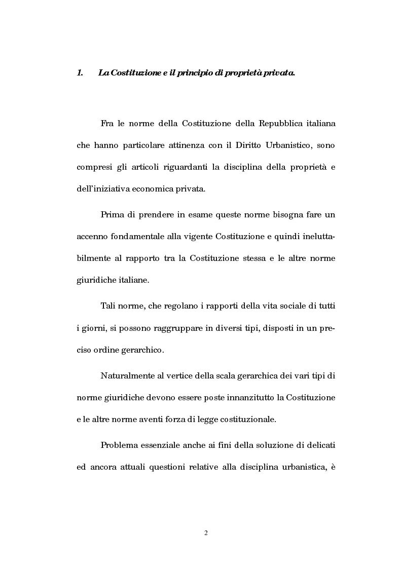 Anteprima della tesi: La legislazione regionale e l'autonomia comunale in edilizia: la denuncia inizio attività (d.i.a.) ed il recupero dei sottotetti, Pagina 1