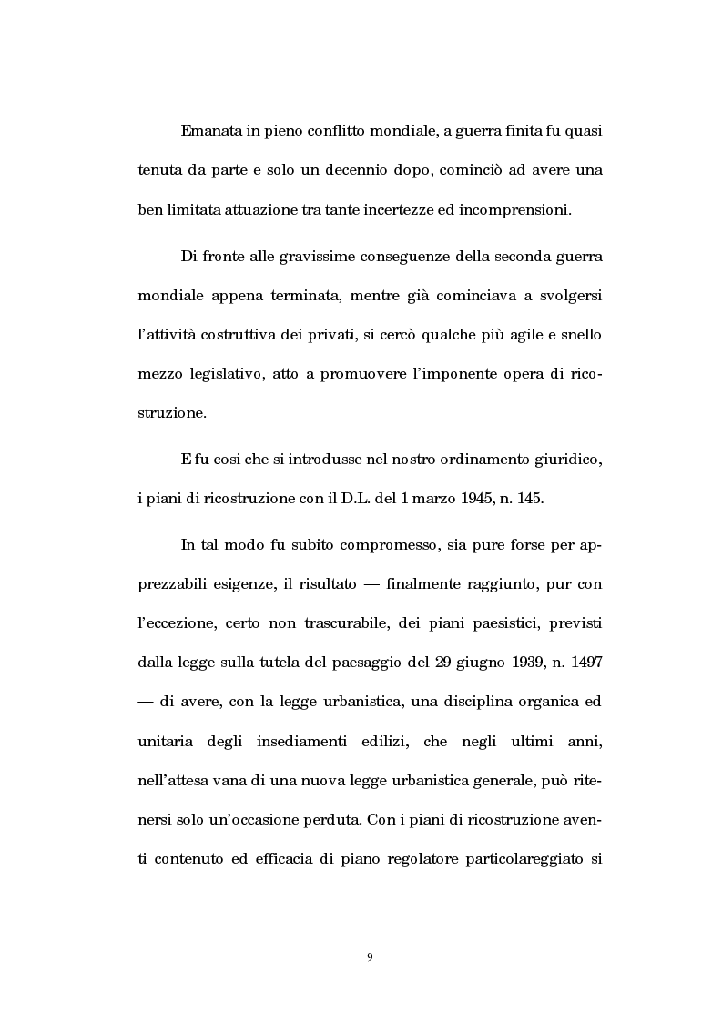 Anteprima della tesi: La legislazione regionale e l'autonomia comunale in edilizia: la denuncia inizio attività (d.i.a.) ed il recupero dei sottotetti, Pagina 8