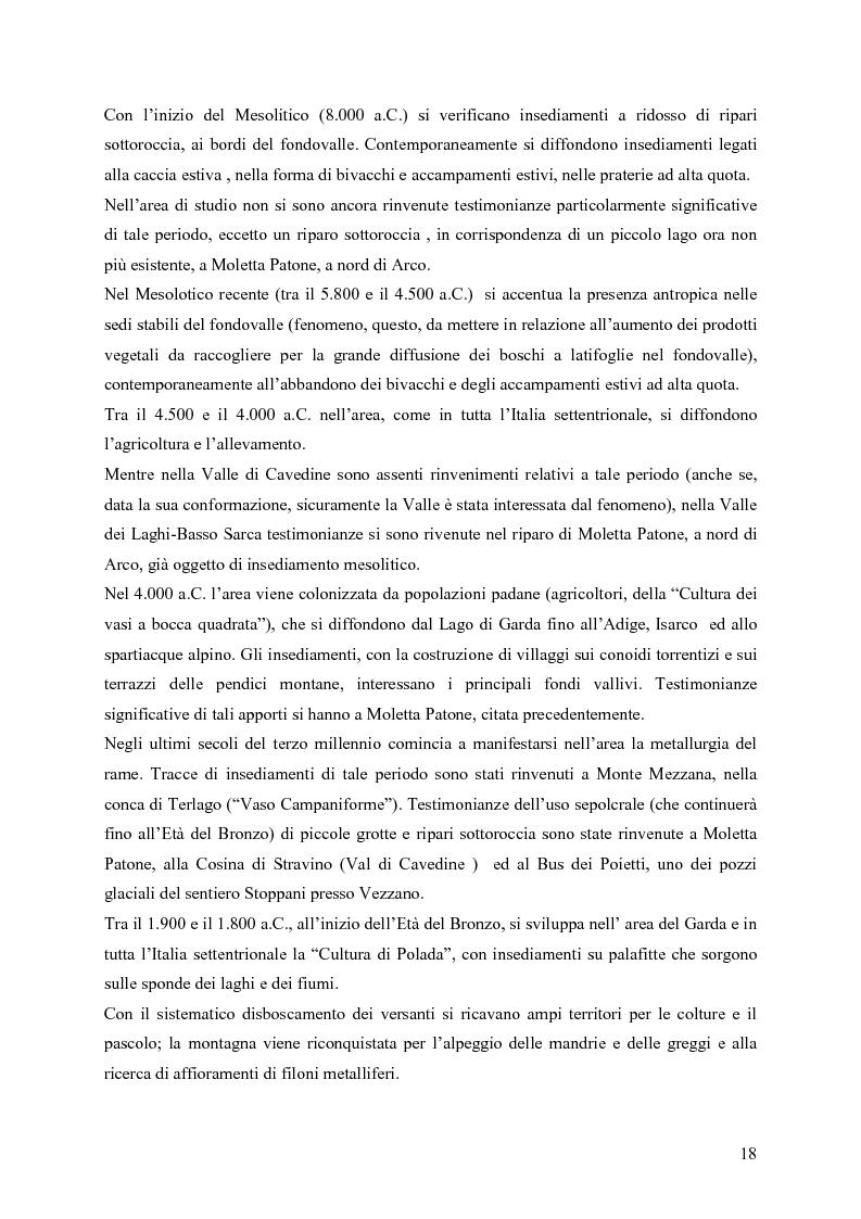 Anteprima della tesi: La riqualificazione ed il restauro territoriale della Valle dei Laghi e della Valle di Cavedine (Trentino Occidentale), Pagina 13