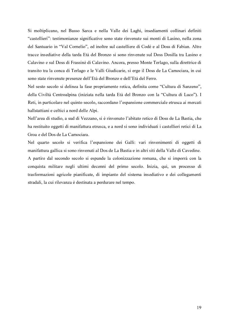 Anteprima della tesi: La riqualificazione ed il restauro territoriale della Valle dei Laghi e della Valle di Cavedine (Trentino Occidentale), Pagina 14