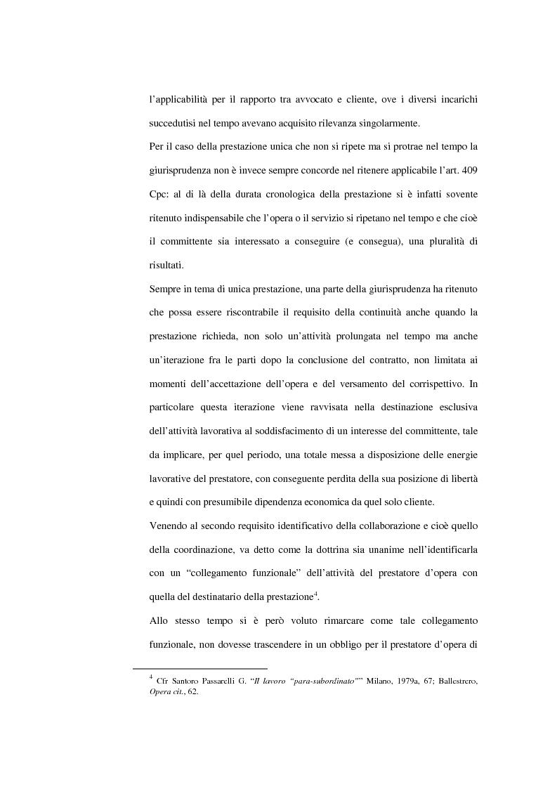 Anteprima della tesi: La contrattazione collettiva dei rapporti di collaborazione coordinata e continuativa, Pagina 3