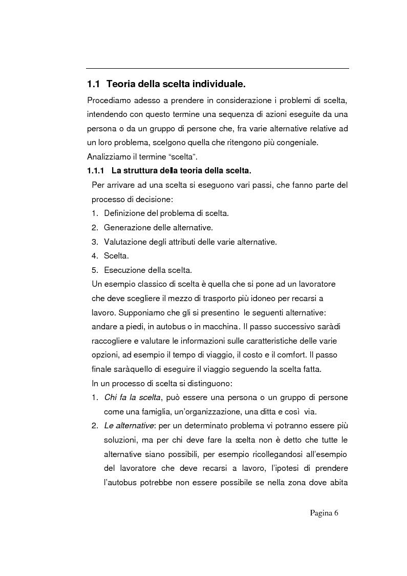 Anteprima della tesi: Modelli decisionali applicati alla scelta degli ospedali, Pagina 4