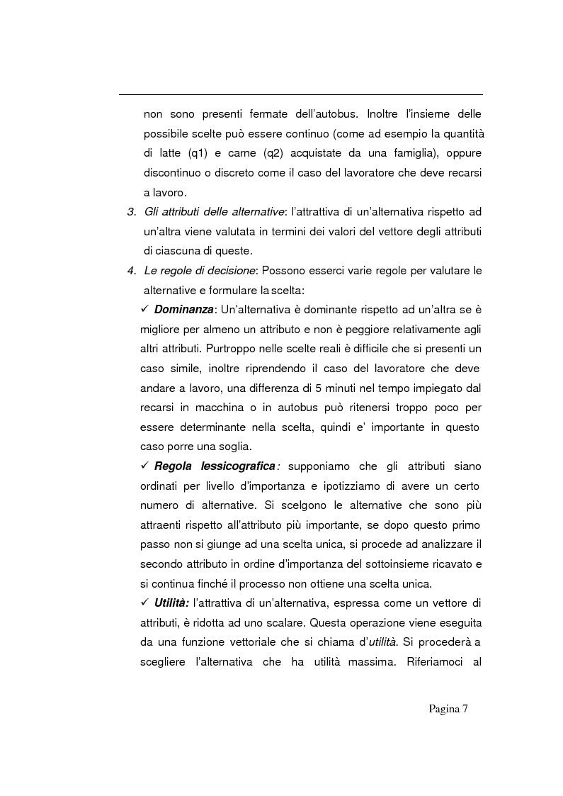 Anteprima della tesi: Modelli decisionali applicati alla scelta degli ospedali, Pagina 5