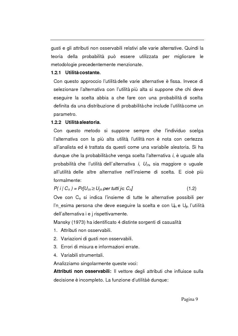 Anteprima della tesi: Modelli decisionali applicati alla scelta degli ospedali, Pagina 7