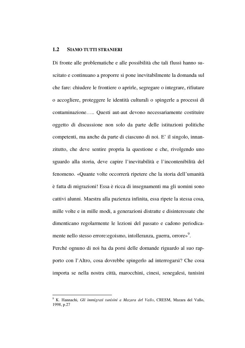 Anteprima della tesi: Le istituzioni politiche regionali nella formazione di una coscienza interculturale, Pagina 6