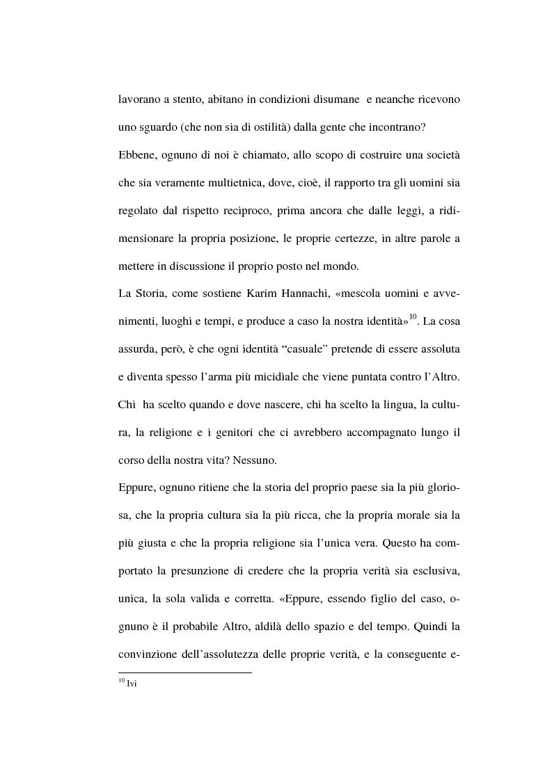 Anteprima della tesi: Le istituzioni politiche regionali nella formazione di una coscienza interculturale, Pagina 7