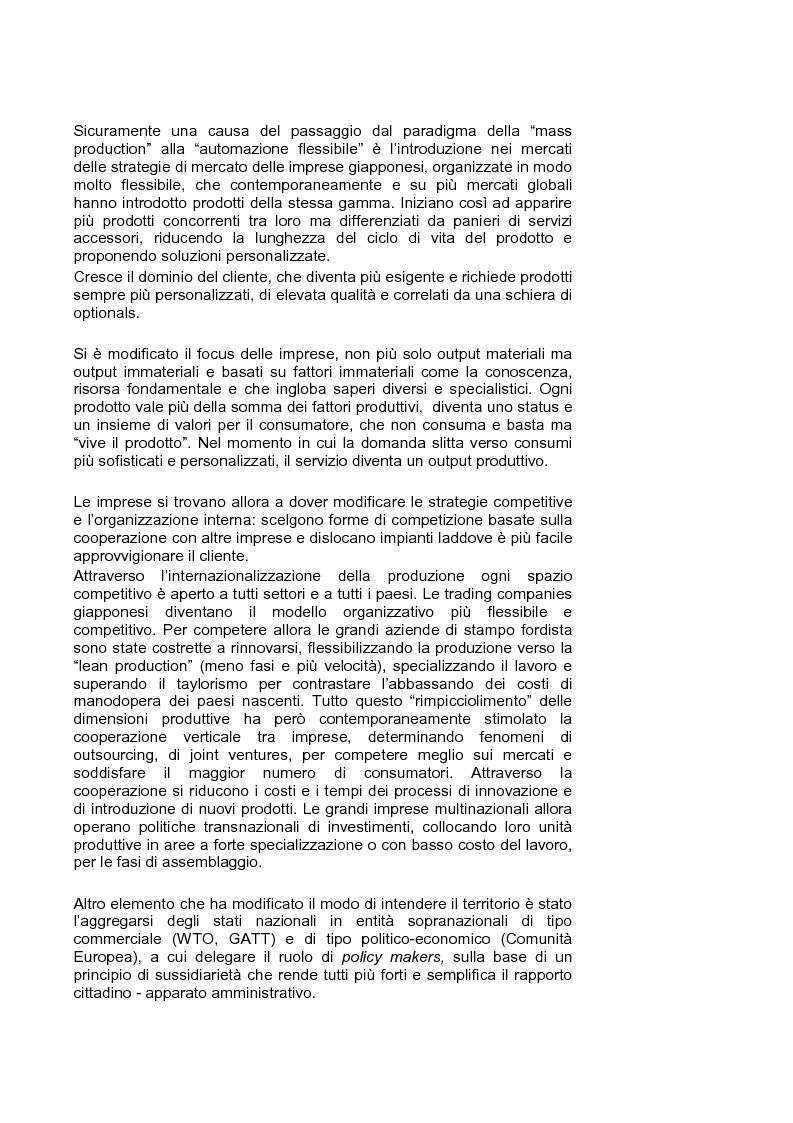 Anteprima della tesi: Marketing territoriale per lo sviluppo locale: il caso ''Corallo e Nuraghi'', Pagina 5