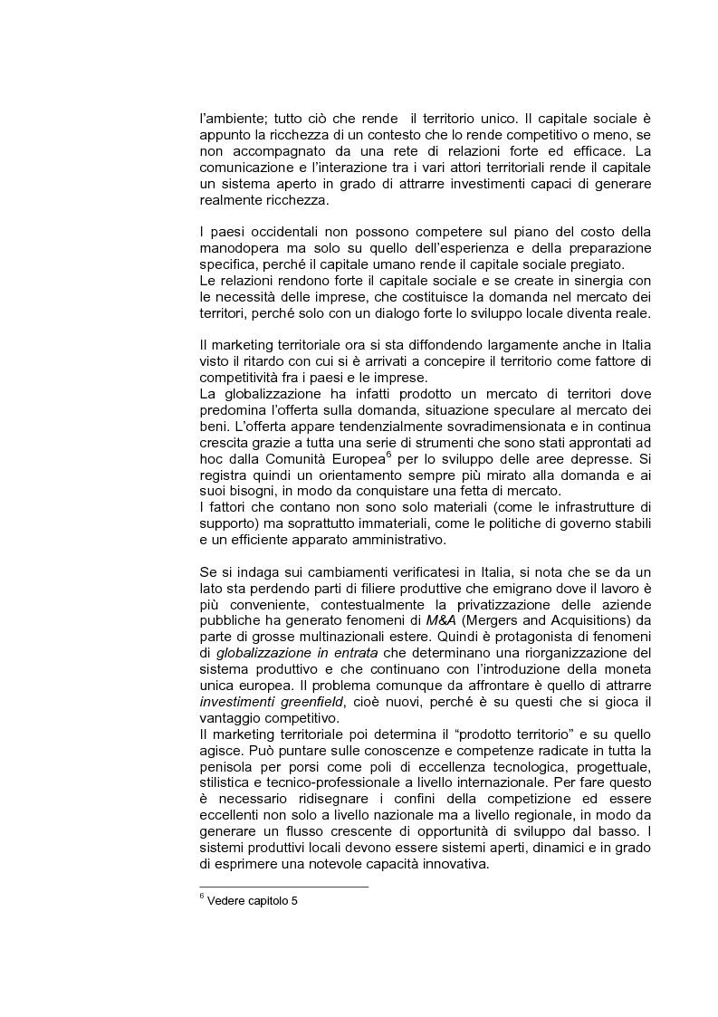 Anteprima della tesi: Marketing territoriale per lo sviluppo locale: il caso ''Corallo e Nuraghi'', Pagina 8