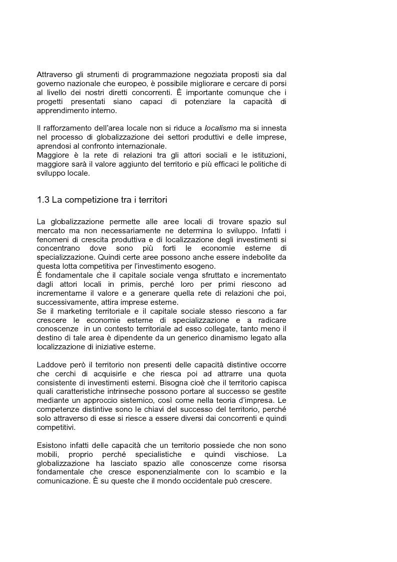 Anteprima della tesi: Marketing territoriale per lo sviluppo locale: il caso ''Corallo e Nuraghi'', Pagina 9
