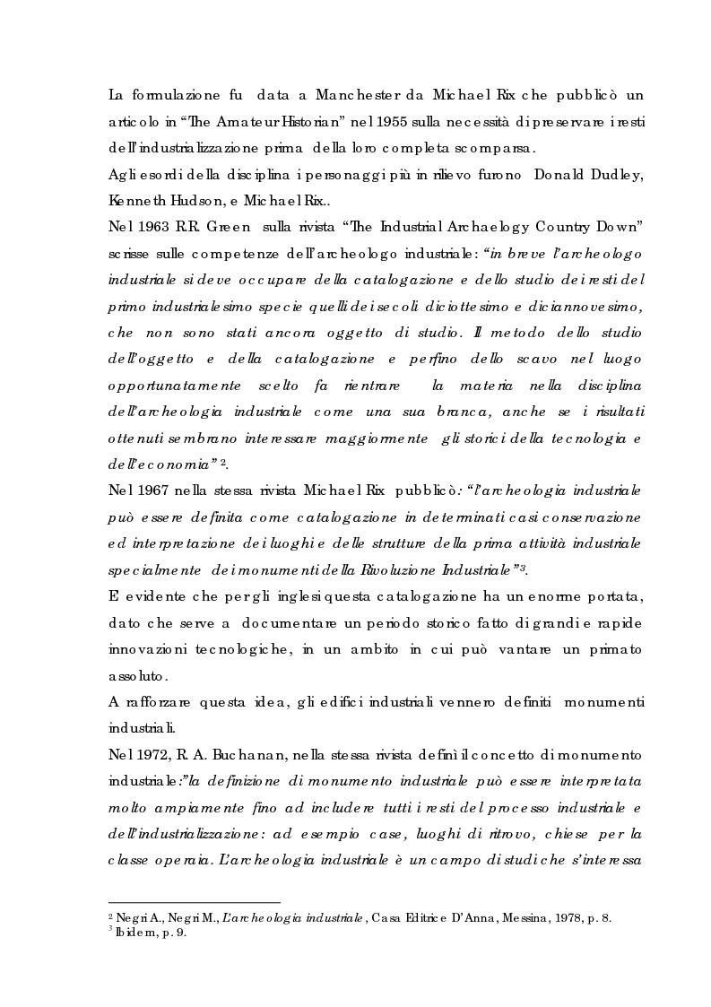 Anteprima della tesi: Recupero urbano ex cementificio Sacci-Corsalone di Arezzo, Pagina 3