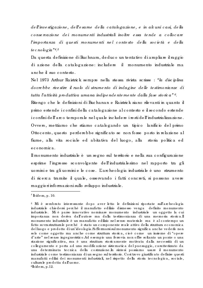 Anteprima della tesi: Recupero urbano ex cementificio Sacci-Corsalone di Arezzo, Pagina 4