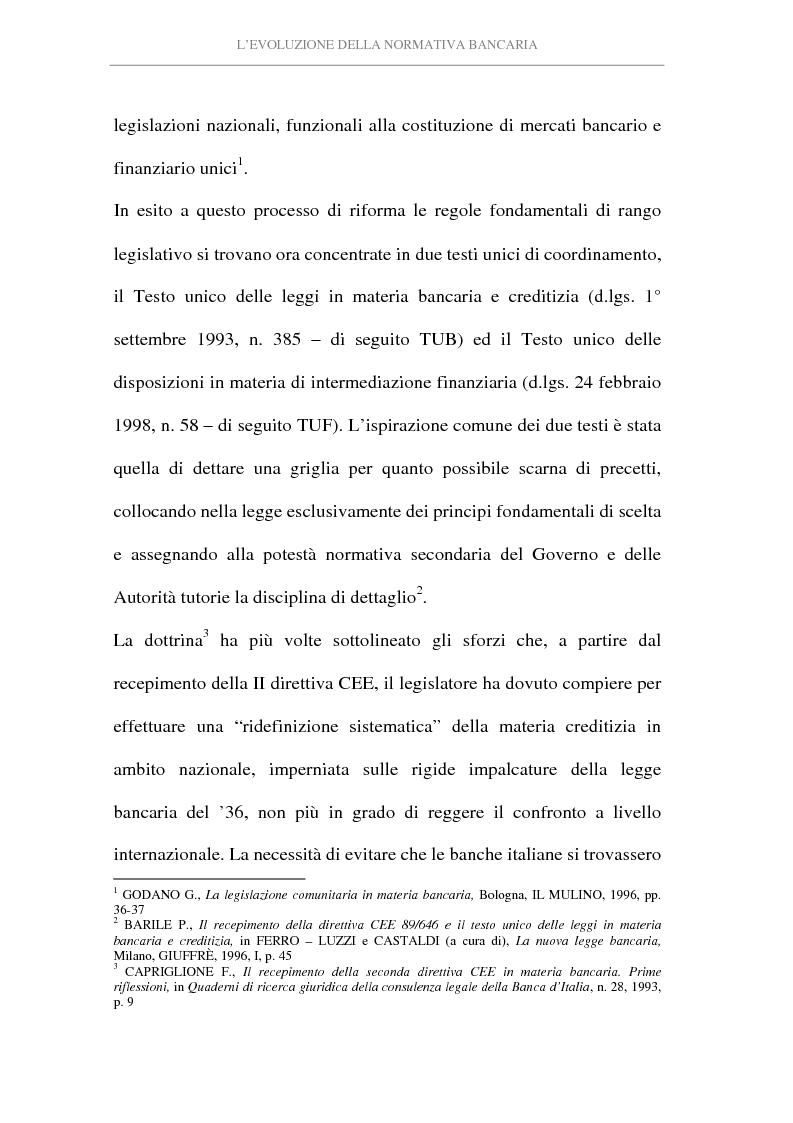 Anteprima della tesi: L'attività di intermediazione finanziaria svolta dalle banche, Pagina 7