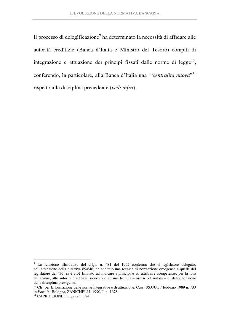 Anteprima della tesi: L'attività di intermediazione finanziaria svolta dalle banche, Pagina 9