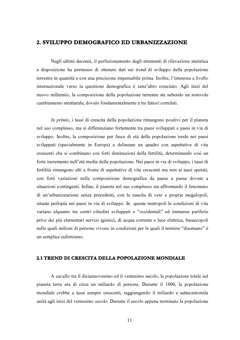 Anteprima della tesi: Sanità mondiale e proprietà intellettuale. Il futuro dell'accordo Trips relativo ai farmaci dopo il caso Sudafrica, Pagina 11