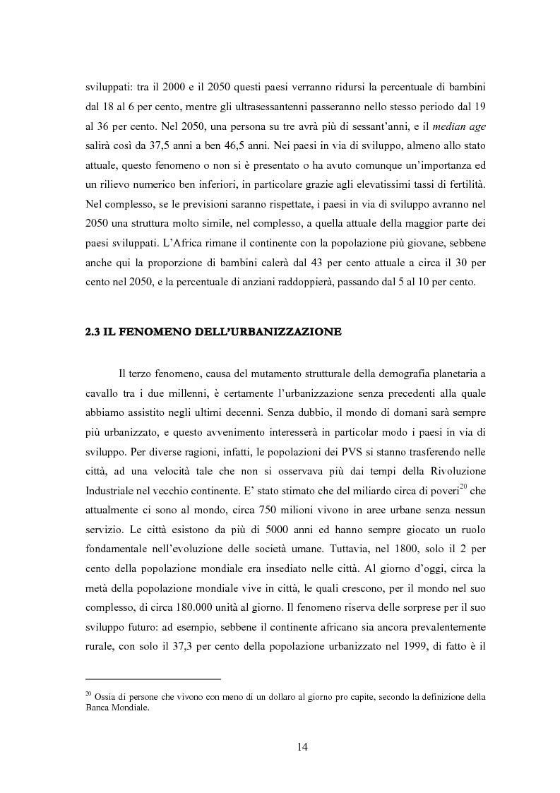 Anteprima della tesi: Sanità mondiale e proprietà intellettuale. Il futuro dell'accordo Trips relativo ai farmaci dopo il caso Sudafrica, Pagina 14
