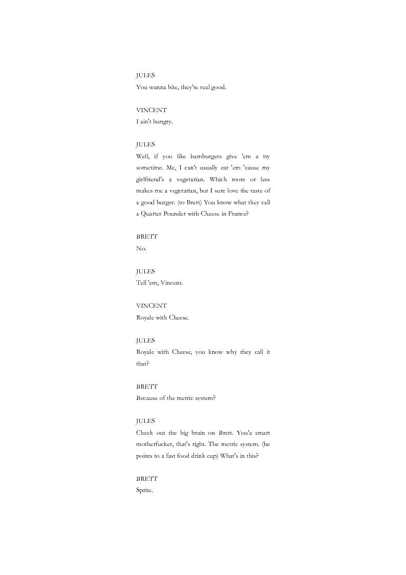 Anteprima della tesi: La citazione nel cinema di Quentin Tarantino, Pagina 7