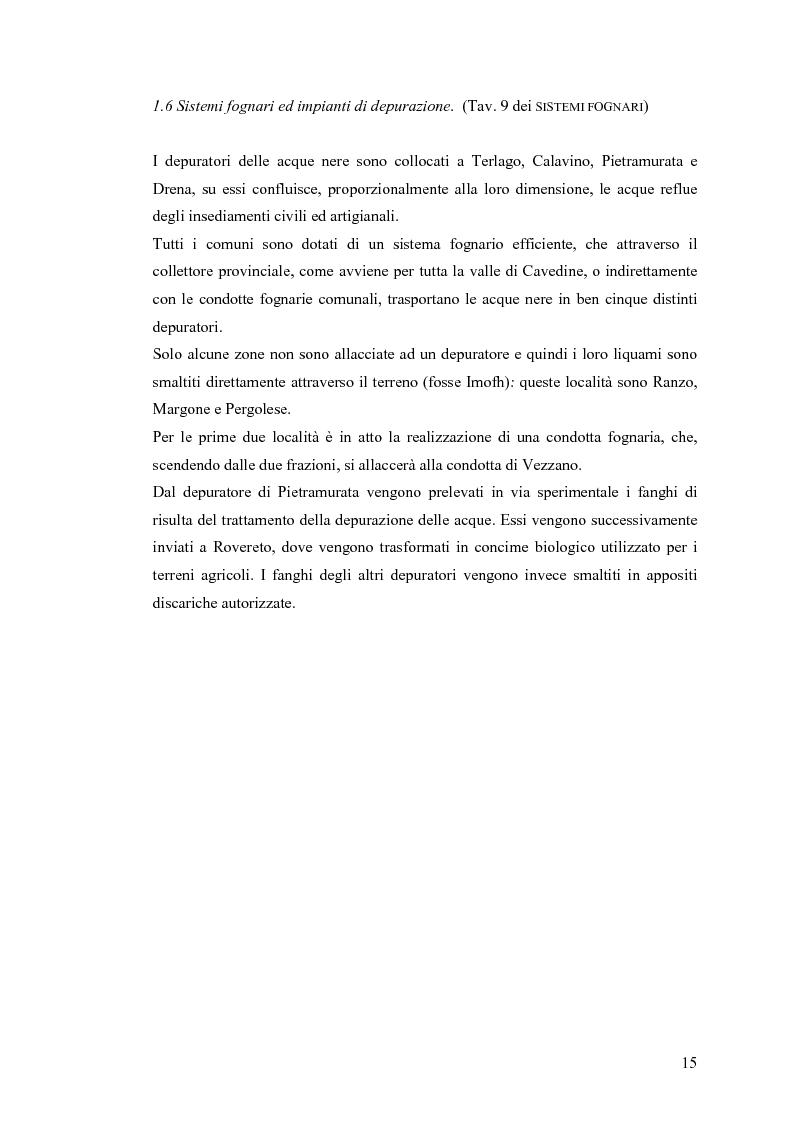 Anteprima della tesi: La riqualificazione ed il restauro territoriale della Valle dei Laghi e di Cavedine - Trentino Occidentale, Pagina 10
