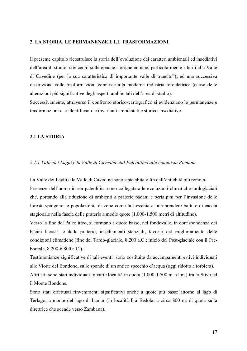 Anteprima della tesi: La riqualificazione ed il restauro territoriale della Valle dei Laghi e di Cavedine - Trentino Occidentale, Pagina 12