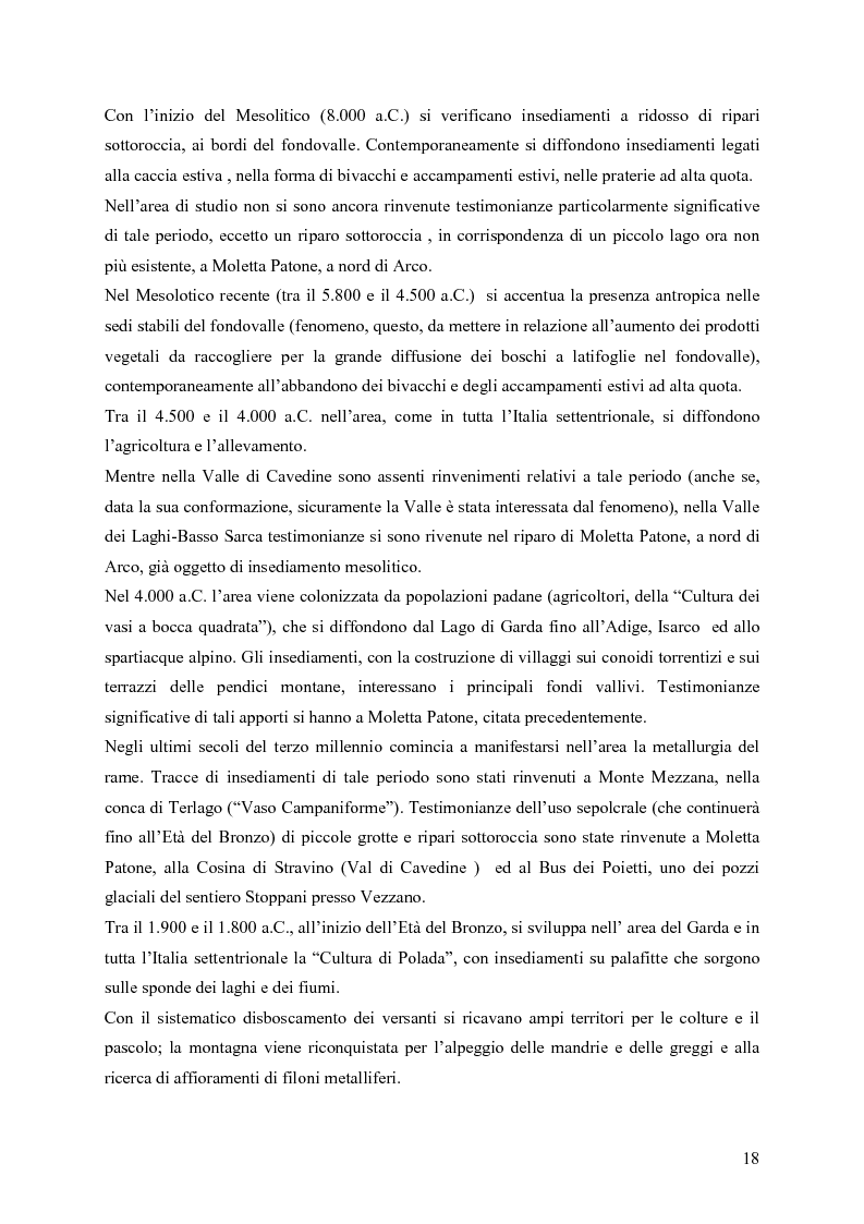 Anteprima della tesi: La riqualificazione ed il restauro territoriale della Valle dei Laghi e di Cavedine - Trentino Occidentale, Pagina 13