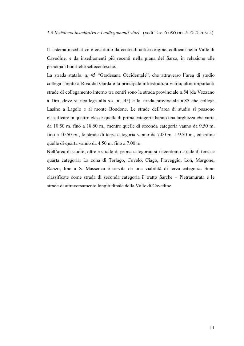 Anteprima della tesi: La riqualificazione ed il restauro territoriale della Valle dei Laghi e di Cavedine - Trentino Occidentale, Pagina 6