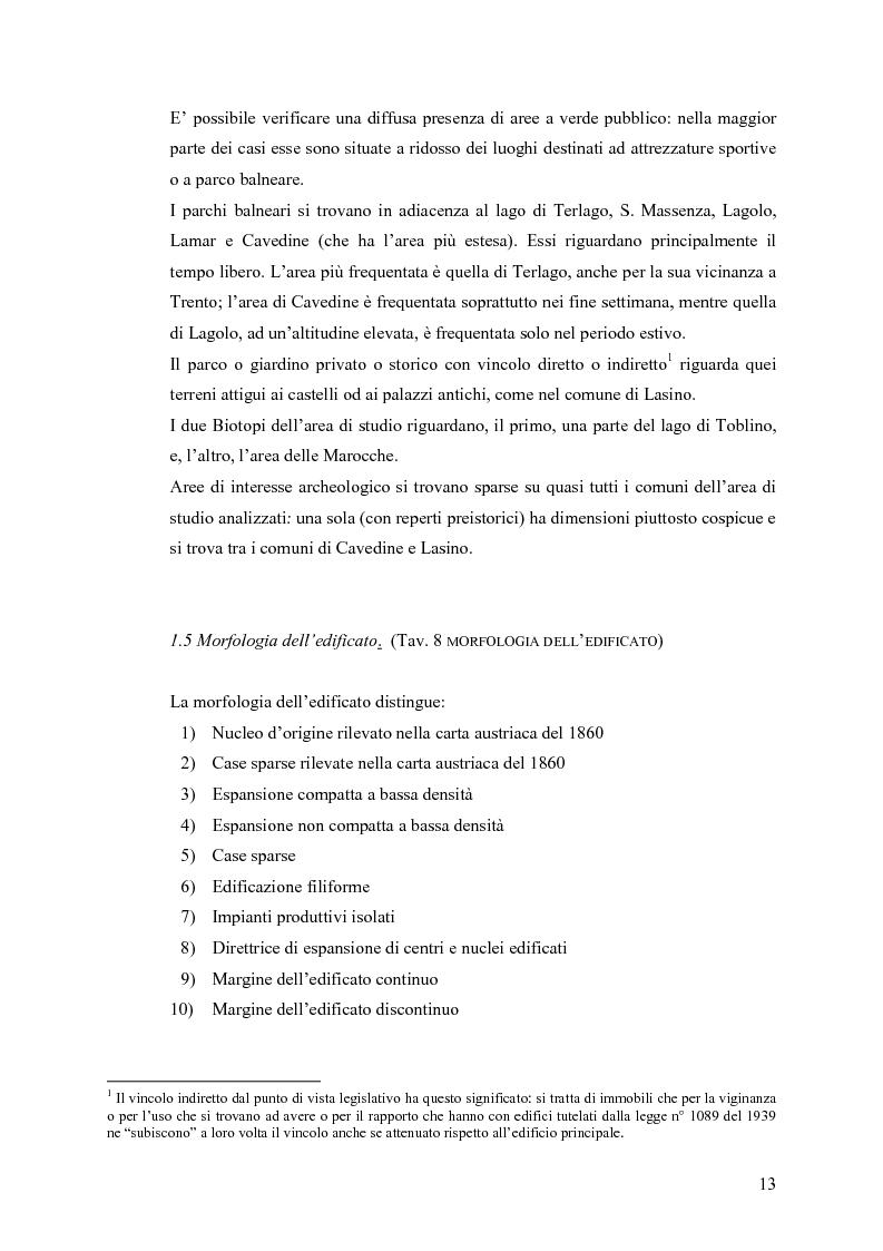 Anteprima della tesi: La riqualificazione ed il restauro territoriale della Valle dei Laghi e di Cavedine - Trentino Occidentale, Pagina 8