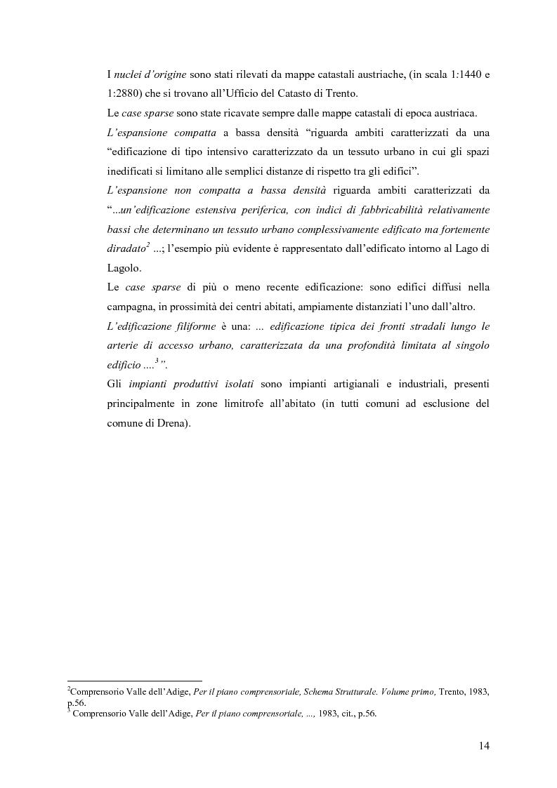 Anteprima della tesi: La riqualificazione ed il restauro territoriale della Valle dei Laghi e di Cavedine - Trentino Occidentale, Pagina 9