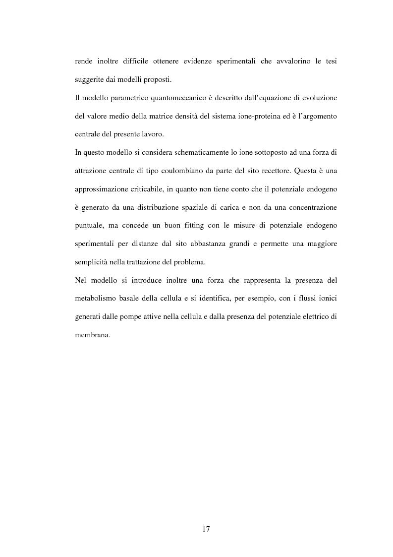 Anteprima della tesi: Modelli a risonanza parametrica dell'interazione bioelettromagnetica, Pagina 11