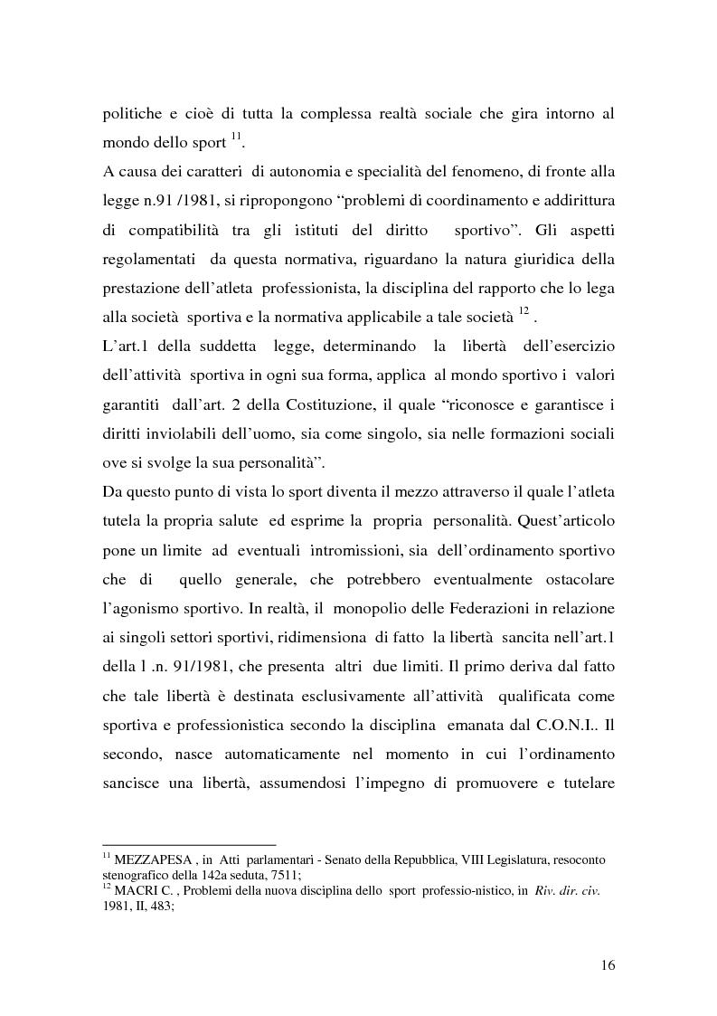 Anteprima della tesi: Il lavoro sportivo, Pagina 12