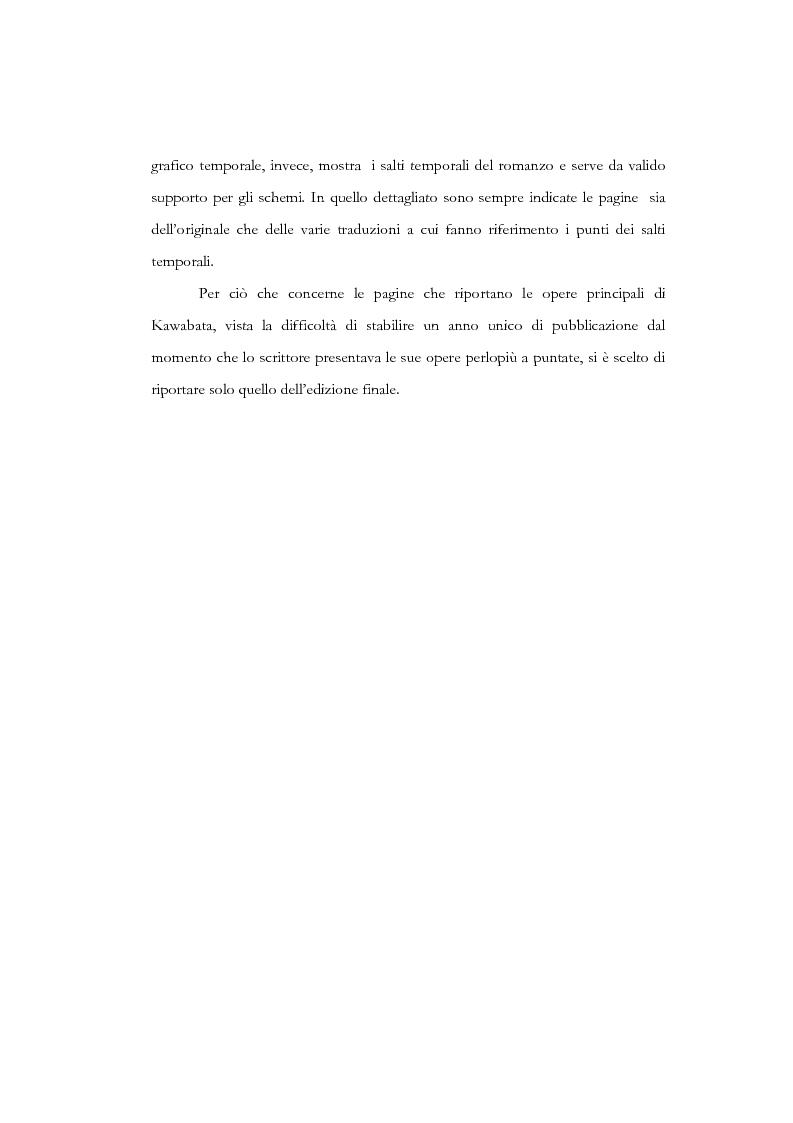 Anteprima della tesi: Tempo, memoria e impulso antinarrativo in Yama no oto di Kawabata Yasunari, Pagina 3