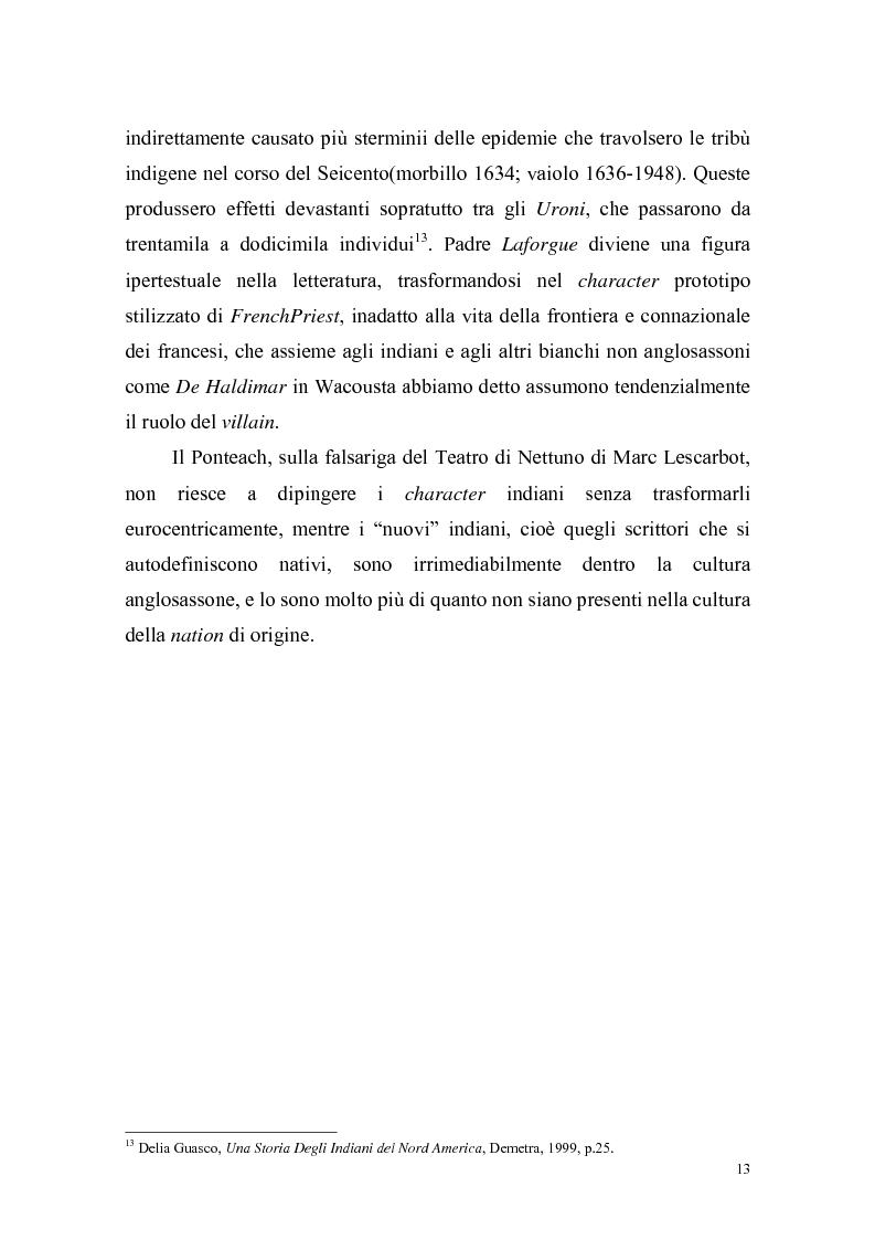 Anteprima della tesi: Ponteach Or The Savages of America, Pagina 10