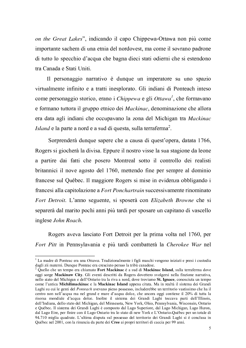 Anteprima della tesi: Ponteach Or The Savages of America, Pagina 2