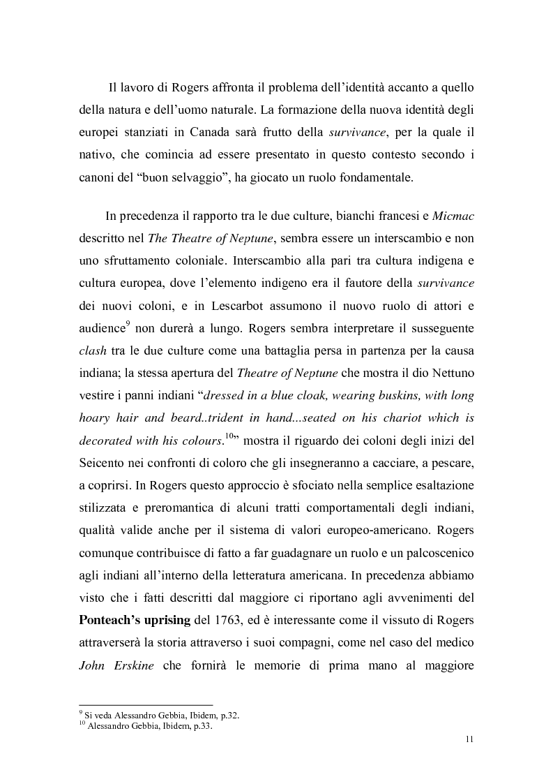 Anteprima della tesi: Ponteach Or The Savages of America, Pagina 8