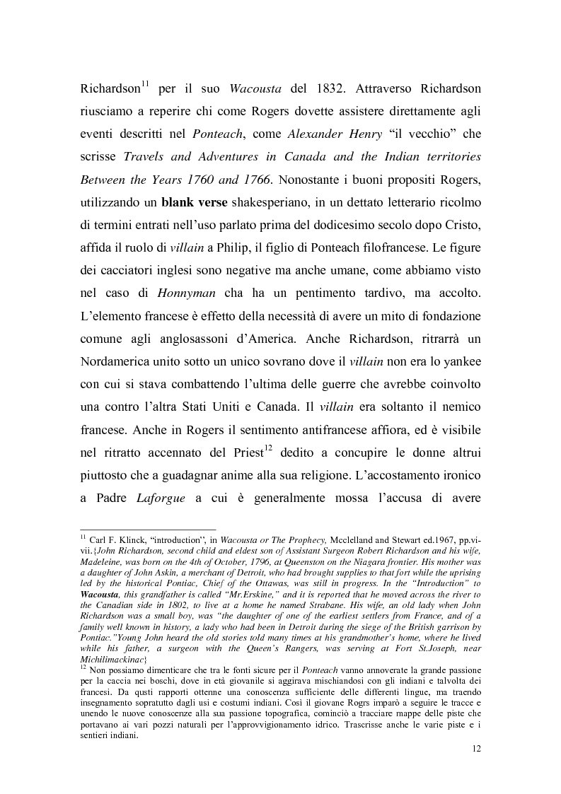 Anteprima della tesi: Ponteach Or The Savages of America, Pagina 9