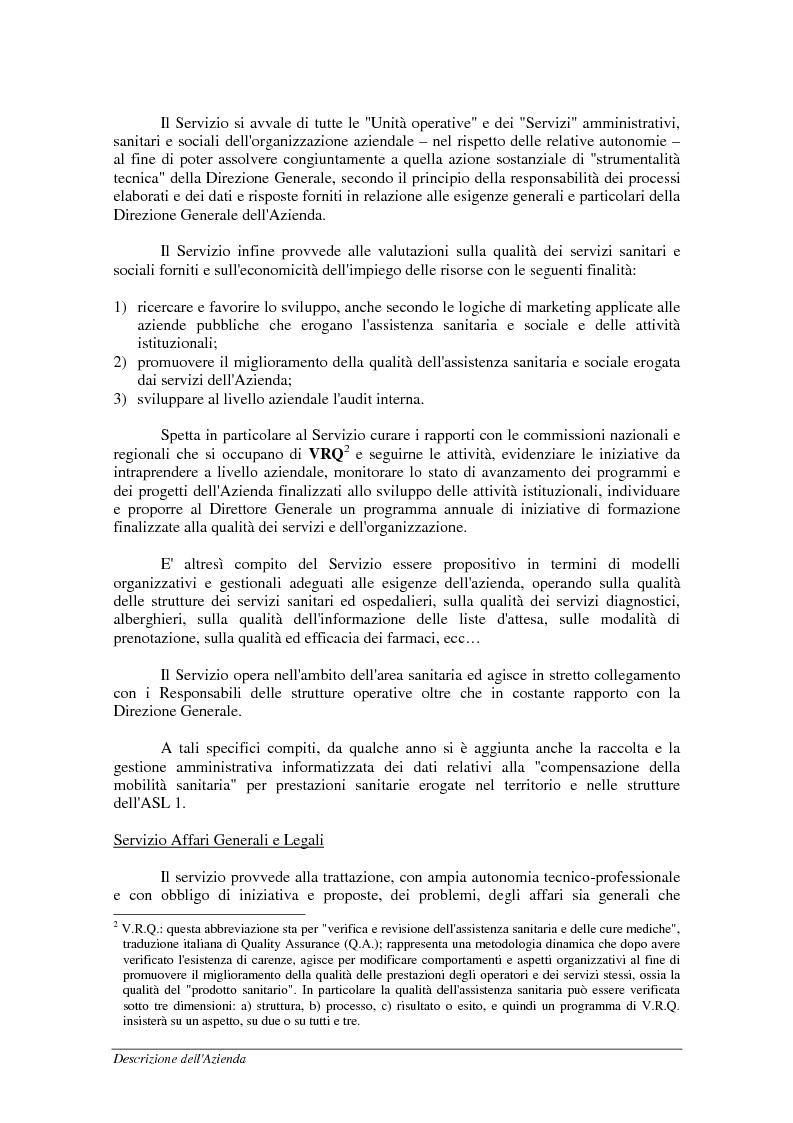 Anteprima della tesi: Mobilità sanitaria - Documentazione ed estensione del sistema informativo, Pagina 11