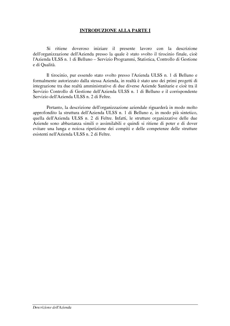 Anteprima della tesi: Mobilità sanitaria - Documentazione ed estensione del sistema informativo, Pagina 5
