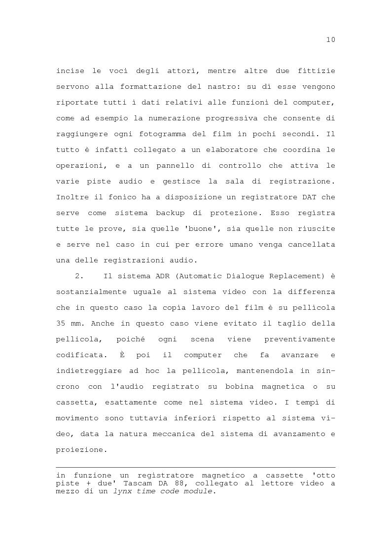 Anteprima della tesi: Il problema della traduzione nel doppiaggio cinematografico in Italia, Pagina 16